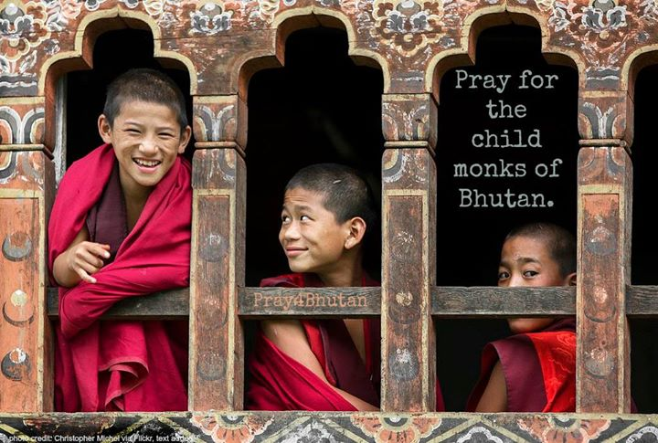 In Bhutan, the poorest families send their sons to live in the Buddhist monaster…