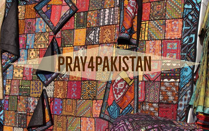 In Pakistan, you can find colorful quilts made up of old tribal dresses pieced t…