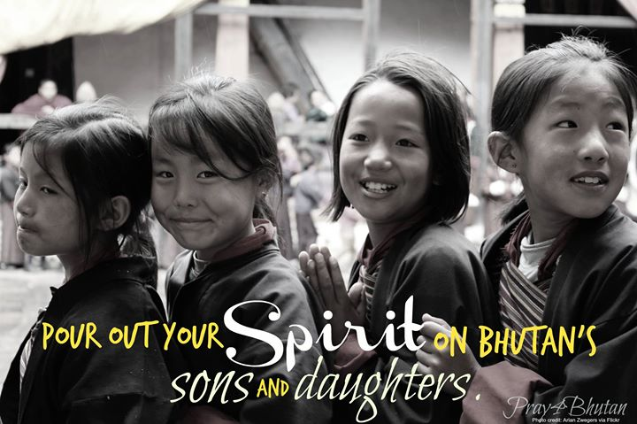Join us in praying for a move of God among Bhutan's children. …