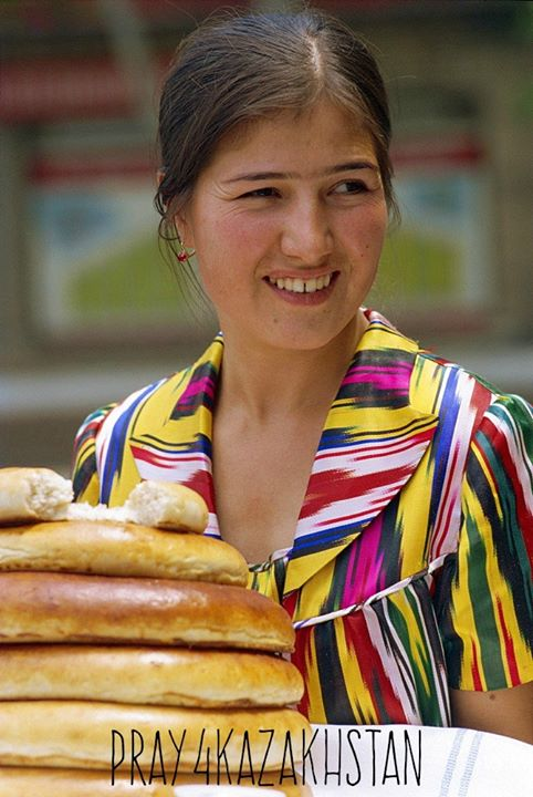 Often as a long- established welcome gesture, Kazakhs will dress in traditional …