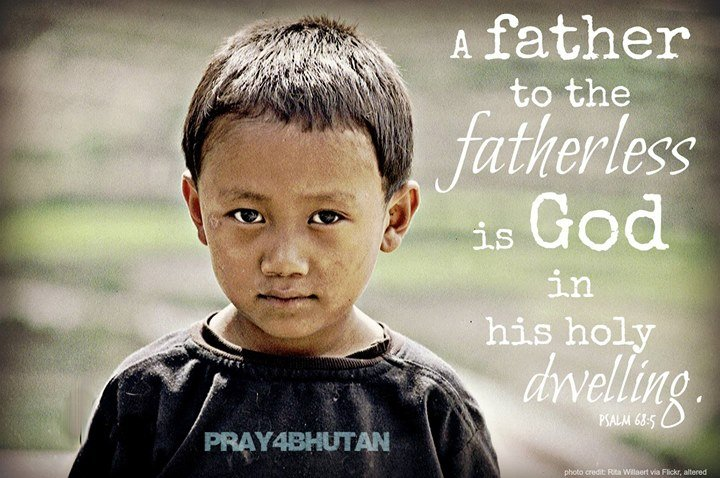 Pray for the thousands of fatherless children in Bhutan. If a single woman has a…