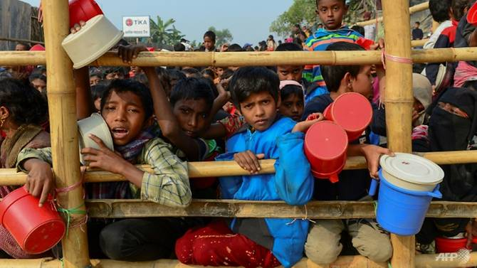 "Recent report: :""Bangladesh has counted over a million Rohingya refugees living …"