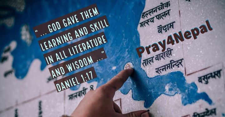 There are 92 living languages spoken in Nepal! Pray for Christian workers who ar…