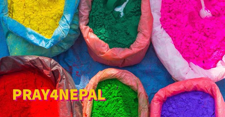 Today, Nepal is covered in the brilliant colors of Holi, the Hindu holiday celeb…