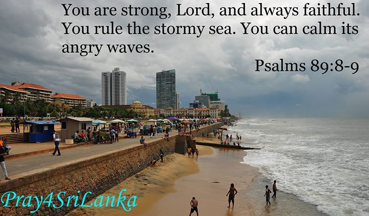 Two storms are looking like they will collide this week in Sri Lanka. Pray for s…